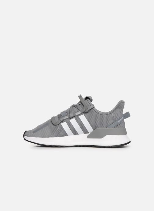 Trainers adidas originals U_Path Run J Grey front view